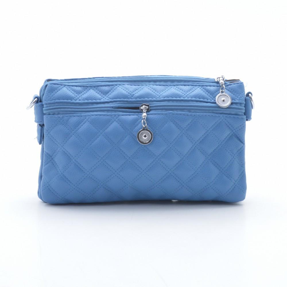 9b633e06eeff Модный стеганый оригинальный клатч , голубой: продажа, цена в ...