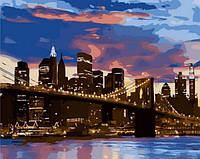 Раскраска по номерам Mariposa Бруклинский мост (MR-Q1263) 40 х 50 см