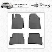 Автомобильные коврики Stingray Nissan Micra K12 2003-