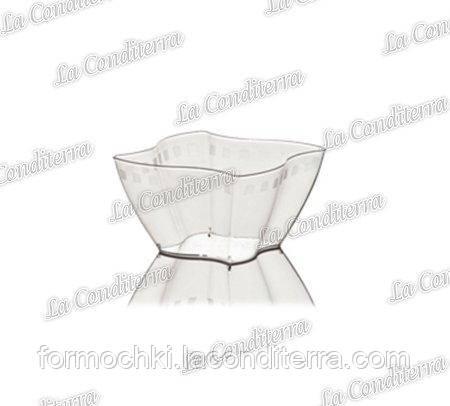 Пластиковая прозрачная креманка «Elika» 371-00 (100 мл)