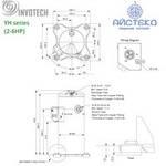 Компрессор спиральный YH95C1-100 Invotech, фото 2