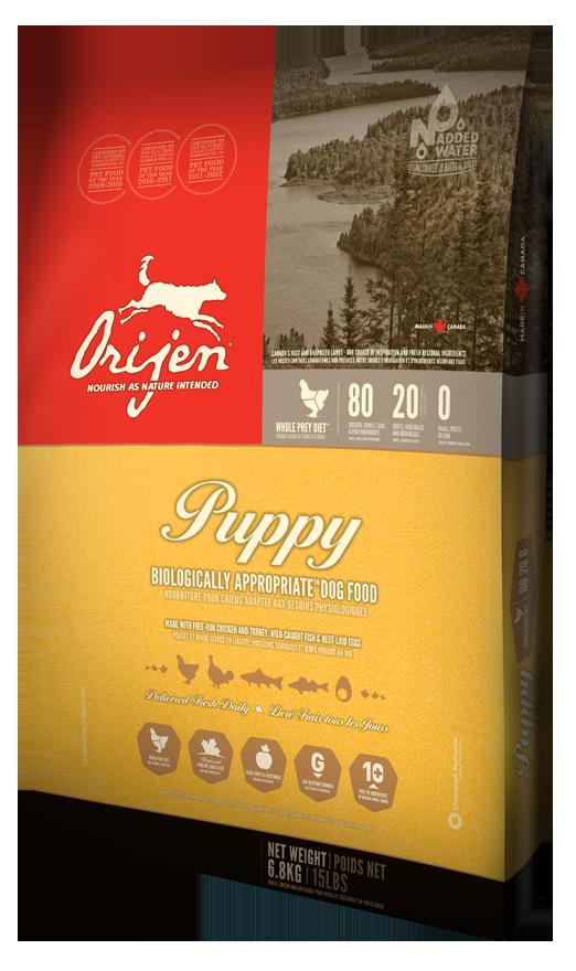 Orijen (Ориджен) Puppy сухой корм для щенков, 6 кг