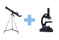 Телескоп и микроскоп набор