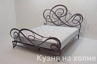 Кованая кровать К067 итальянской фабрики BOVA. Реплика.
