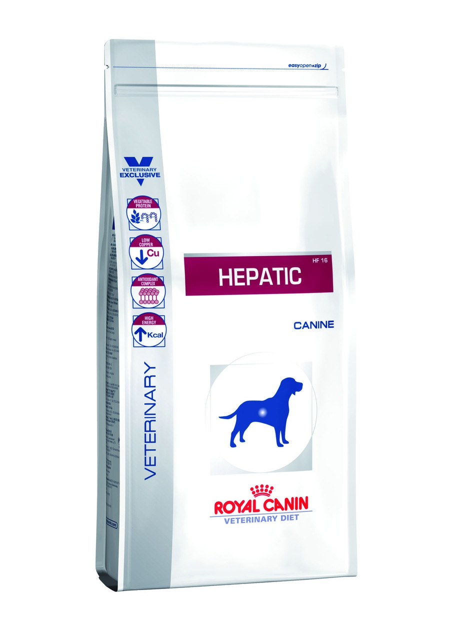 Royal Canin (Роял Канин) Hepatic лечебный корм для собак при заболеваниях печени, 1.5 кг