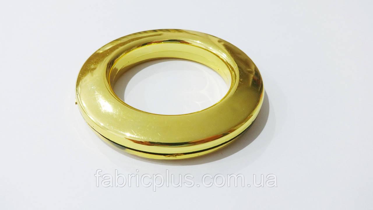 Люверс  декор. золот.  ф = 6,2х4,2 см
