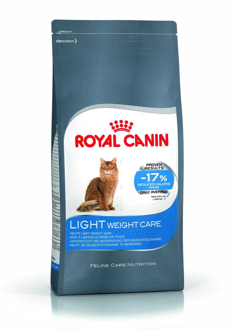 Royal Canin (Роял Канин) Light Weight Care корм для взрослых кошек для ограничения набора веса, 2 кг