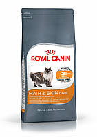Royal Canin (Роял Канин) Hair & Skin Care корм для кошек для здоровья кожи и шерсти, 2 кг