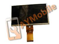 "Дисплей (матрица) 7"" TeXet TB-721HD 50 pin 1024x600 dpi 164x97x3 mm"