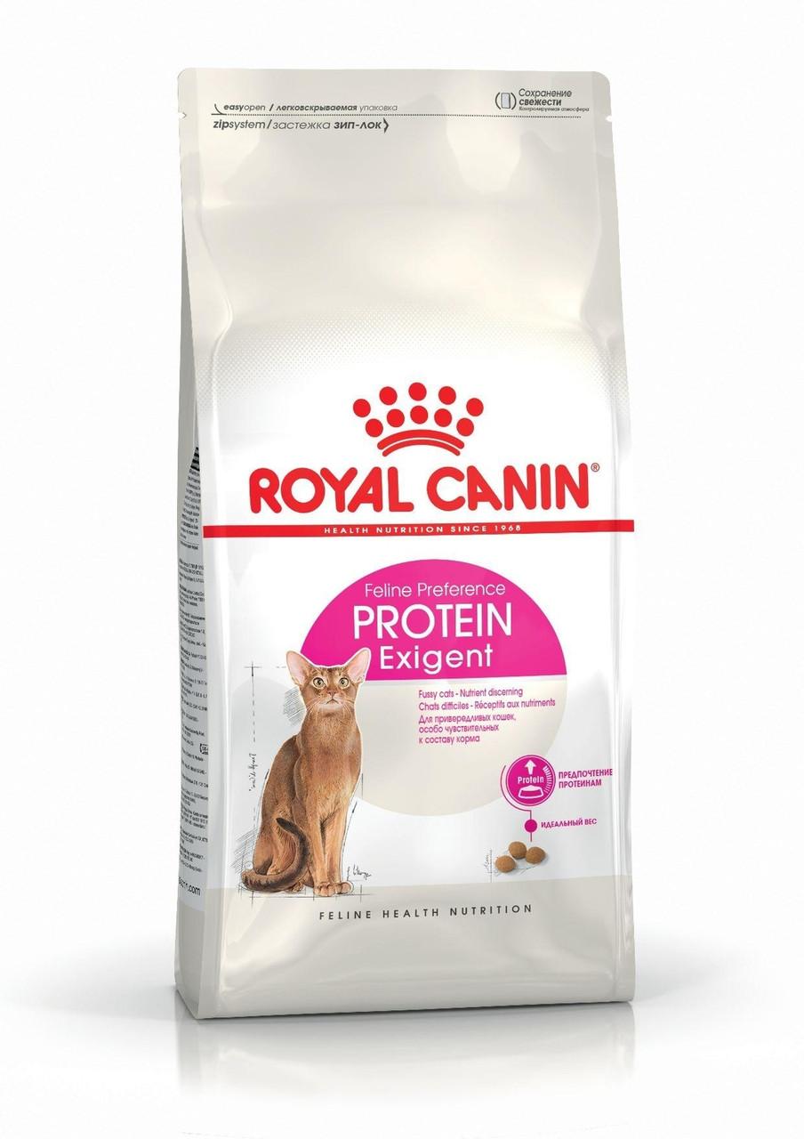 Royal Canin (Роял Канин) Protein Exigent корм для кошек, привередливых к составу корма, 10 кг