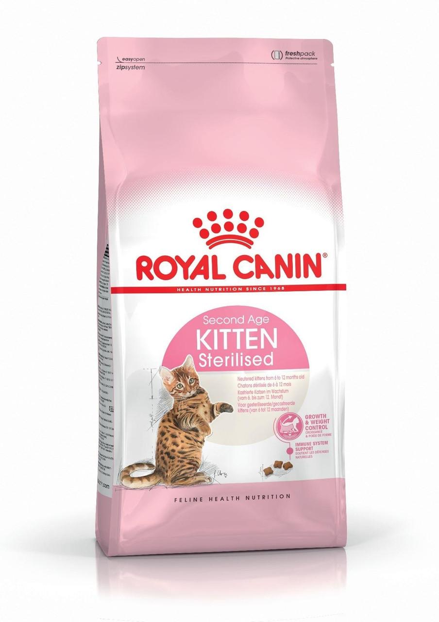 Royal Canin (Роял Канин) Kitten Sterilised сухой корм для стерилизованных котят, 400 г
