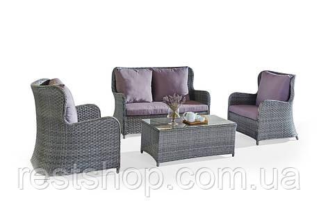 Комплект Диван + 2 Кресла + Кофейный столик, фото 2