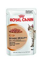 Royal Canin Intense Beauty в соусе здоровая кожа, красивая шерсть