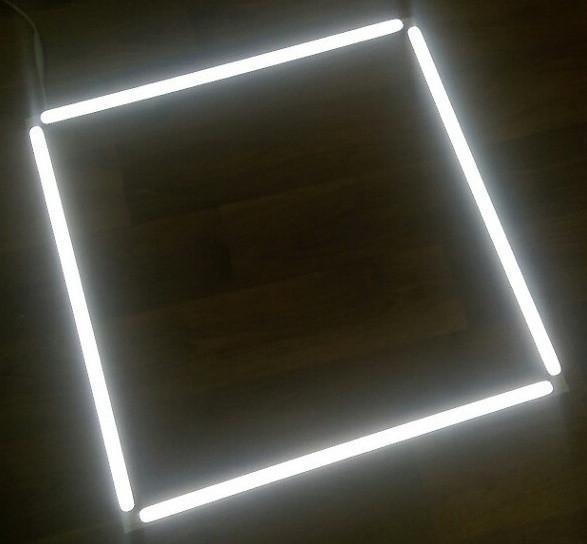 Светодиодная LED панель ART VIDEX 40W 5000K 4000Lm ВСТРАИВАЕМАЯ 587х587х13.5