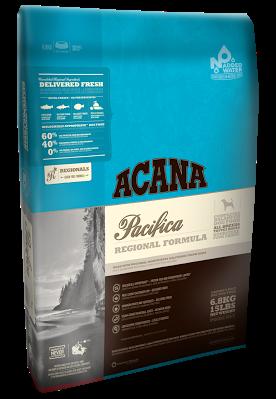 Acana (Акана) Pacifica Dog беззерновой корм для собак всех возрастов с рыбой, 6 кг