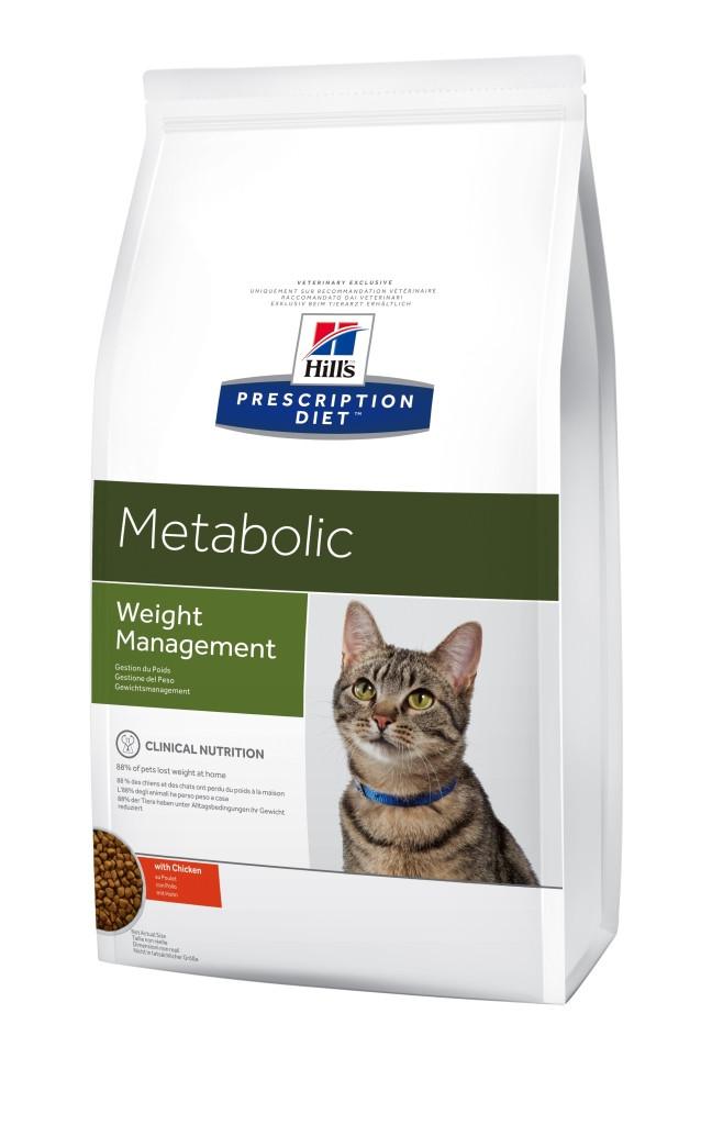 Hills (Хиллс) Feline Metabolic диетический корм для коррекции веса кошек, 4 кг