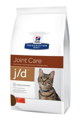 Hills (Хиллс) Feline j/d лечебный корм для кошек, 2 кг