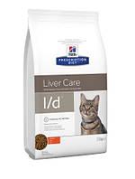 Hills (Хиллс) Feline l/d лечебный корм для кошек, 1.5 кг