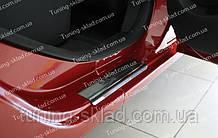 Накладки на пороги Renault Sandero 1 (накладки порогов Рено Сандеро)