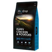 Profine (Профайн) Puppy Chicken & Potatoes корм для щенков (курица/картофель), 15 кг