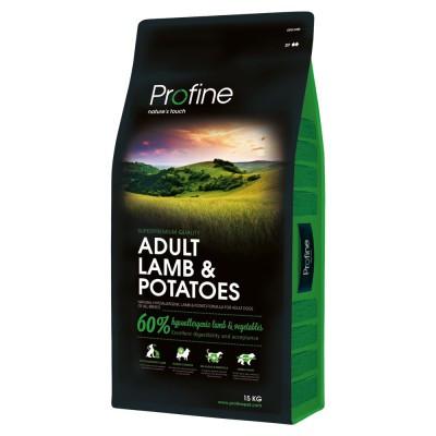 Profine (Профайн) Adult Lamb & Potatoes корм для собак всех пород (ягненок), 15 кг