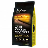 Profine (Профайн) Adult Chicken & Potatoes корм для собак всех пород (курица/картофель), 15 кг
