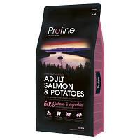 Profine (Профайн) Adult Salmon & Potatoes корм для собак всех пород (лосось/картофель), 15 кг