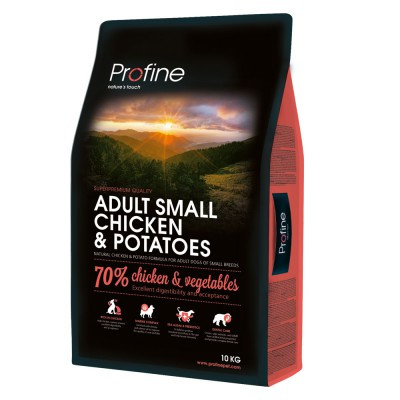 Profine (Профайн) Adult Small Breed Chicken & Potatoes корм для взролых собак малых пород, 2 кг
