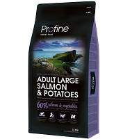 Profine (Профайн) Adult Large Salmon & Potatoes корм для собак крупных пород, 3 кг