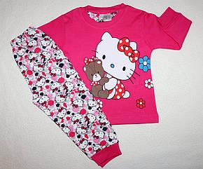 Пижама на девочку 100 % хлопок 1,2 года