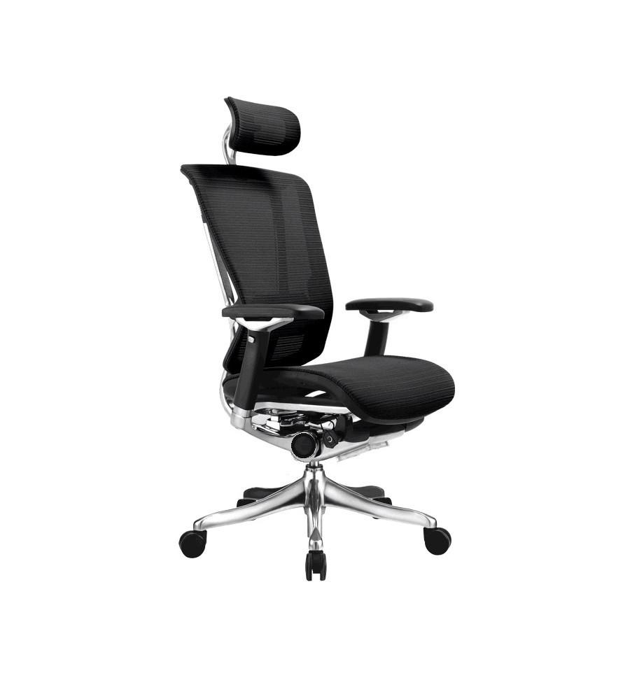 Эргономичное Кресло Nefil Luxury Mesh черное