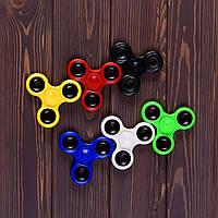Спиннер пластиковый Fidget Spinner spin-1 (6 ед. в упаковке)