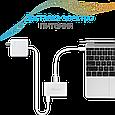 USB Type-C ХАБ Unihub-C Silver, фото 3