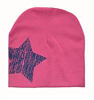 Детская демисезонная шапочка .