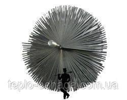 Ершик для чистки дымохода стальной под резьбу, фото 2