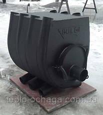 Печь Буллерьян с варочной поверхностью, закругленная, тип 02, фото 2