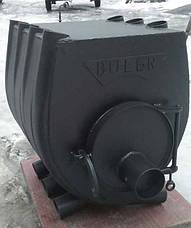 Печь Буллерьян с варочной поверхностью, закругленная, тип 02, фото 3