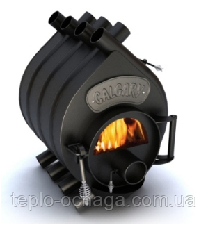 Канадская печь Булерьян стекло, тип 00 Calgary - Тепло очага в Киеве