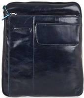 Мужская кожаная сумка через плечо Piquadro Blue Square, CA1815B2_BLU2 темно-синий