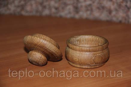 Ваза декоративная из дерева, фото 2