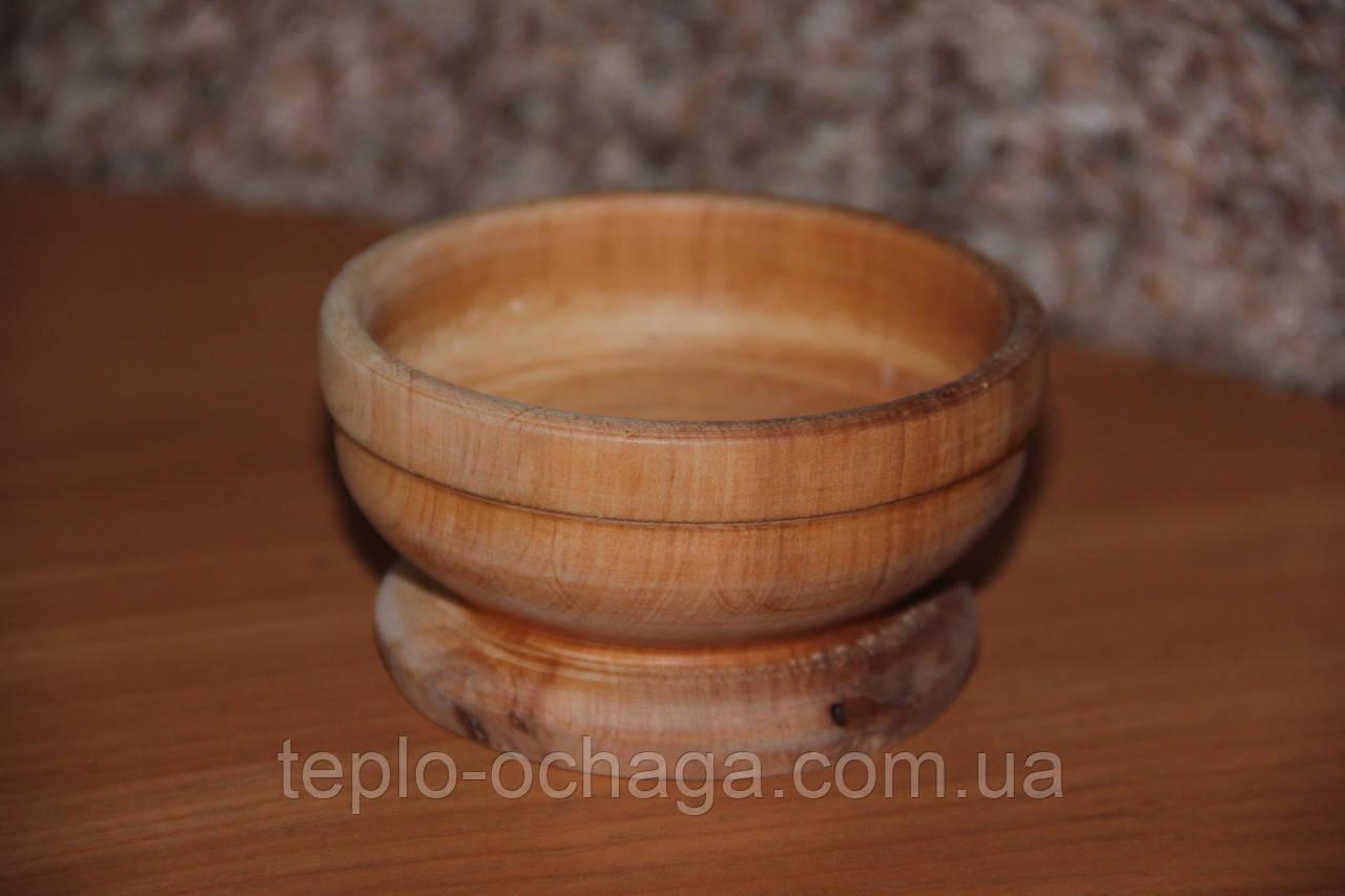 Деревянная ваза ручная работа