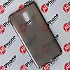 Чехол-бампер силиконовый прозрачный Xiaomi Redmi Note 4X Black