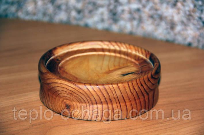 Подставка под чашку деревянная, фото 2