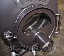 Отопительная печь Булерьян, тип 03 со стеклянной дверкой, фото 2
