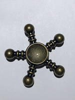 Спиннер (spinner)Металевий Череп бронзовий