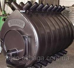 Печь дровяная отопительная ONTARIO , тип 05 стеклянная дверь, фото 2