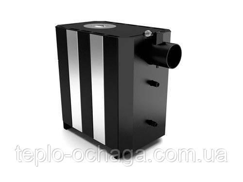 Печь Огнев ПОВ-100 теплообменник, две конфоркм, фото 2