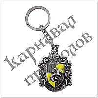 Брелок БГПГ 1003 Гарри Поттер Герб Пуффендуй, фото 1