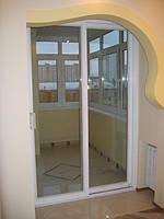 Балконный блок раздвижная система
