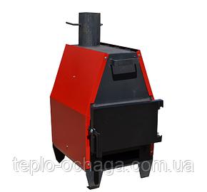 Печь длительного горения с варочной поверхностью Зубр-15, фото 2